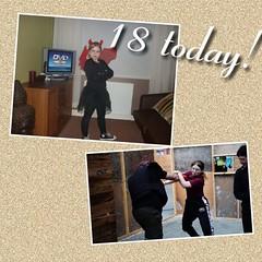 Day 67 (Iain Purdie) Tags: birthday 18 ellissa daughter kravmaga halloween happy 2019