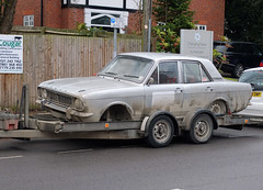 In the wars. (geoff7918) Tags: fordcortina knowle
