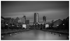 Docklands (Paul.Stevens photography) Tags: blackandwhite docks longexposure paulstevensphotography paulstevens docklands architecture canarywharf