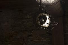 20190216. Vängla veski. 2158 (Tiina Gill (busy)) Tags: estonia vängla indoor lantern lamp broken watermill