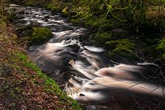 Lower Greeto Falls (Brian Travelling) Tags: scotland pentaxk20d greeto pentaxkr falls northayrshire ayrshire waterfall water