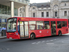 Go Ahead London SE203 (Teek the bus enthusiast) Tags: victoria putney bridge route 36 507 london buses go ahead abellio metroline tower transit national express