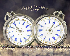 for macro mondays redux 2018 'double exposure' (Emma Varley) Tags: happynewyear 2019 pocketwatch antique oldwatch newyear vintage doubleexposure macromondays bokeh text itsabitclumsybutsortoflookslikeihopeditwould redux2018