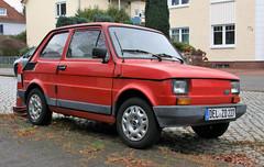 Maluch (Schwanzus_Longus) Tags: delmenhorst german germany polan polish old classic vintage car vehicle compact polski fiat 126p 650e maluch