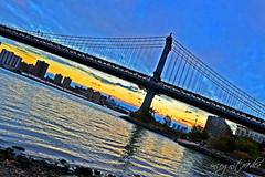 Manhattan & Williamsburg Bridges seen from Brooklyn Bridge Park Brooklyn New York City NY P00122 DSC_3358 (incognito7nyc) Tags: newyork newyorkcity nyc ny nyny brooklyn brooklynbridge brooklynbridgepark manhattan manhattanview manhattanbridge williamsburgbridge eastriver fdr fdrdrive cityofdreams nyccityofdreams cityofdreamsnyc empirestate incognito7dcv incognito7nyc nikon dslr d3100 nikond3100 newyorklife newyorkdream newyorkdreams empirestateofmind nycstateofmind newyorkstateofmind loveny ilovenewyork ilovenewyorkcity ilovenyc lovenyc sky clouds sunset