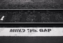 Mind that Gap! (Haruhara_Izzy) Tags: rollei 35 35mm film hp5 ilford canoscan 9000f