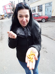 A small handful on a cold day in Kostajnica Bosnia (sean and nina) Tags: ice fros cold freeze freezing kostajnica bosna bosnia bih republika srpska serb winter january 2019 border town bosnian municipality nina wife married fiancee girlfriend girl lady woman female beauty beautiful gorgeous stunning charm charming cute brunette black clothes jeans blue brown eyes face pink lips sun car park cars vehicles outdoor outside weather candid street public people person