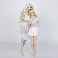 EdenBlair e Raphaelle Paris (halscary) Tags: fashion royalty eden blair nu face color infusin integrity toys 2019 poppy parker blonde doll