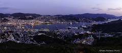 Nagasaki at Dusk (GilBarib) Tags: composite voyage bluehour twilight nagasaki travel fujix gillesbaribeauphoto fujifilm crépuscule gilbarib panorama japon japan dusk
