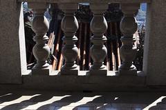 汐止 拱北殿 (沐均青) Tags: landscape scenery travel colorful blue red green black outside town countryside tamron clouds sky buildings city temple lion statue religion maple leaf taipei