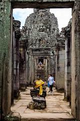 FSCF3936 (Deepak Kaw) Tags: angkor siemreap architecture travel cambodia fujifilm composition colours culture bayon