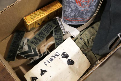 Box of Military Items ($134.40)