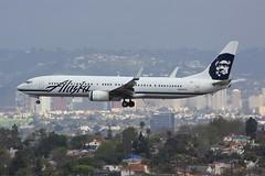 B737 N407AS Los Angeles 21.03.19 (jonf45 - 5 million views -Thank you) Tags: airliner civil aircraft jet plane flight aviation lax los angeles international airport 737 b737 alaska airlines boeing n407as