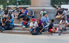 Everyone on Their Cell Phones - New York (silkylemur) Tags: 24105mm america canon canon6d canonef24105mmf4lisusmlens canonef24105mmf4lisusm canoneos6d canonlens eeuu ef eflens eastcoast eastcoastoftheunitedstates estadosunidos fullframe lens newyork newyorkcity northamerica nuevayork photography street streetphotography usa unitedstates unitedstatesofamerica ניויורק קנון كانون نيويورك نیویورک کانن न्यूयॉर्कनगर アメリカ合衆国 キャノン キャノン6d キヤノン ストリートスナップ ニューヨーク 佳能 北米 東海岸 米国 纽约 美国 뉴욕 캐논 us cellphone android iphone smartphone phone phones