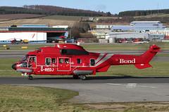 AS332L2 Super Puma G-REDJ Bond Offshore Helicopters (Mark McEwan) Tags: aerospatiale as332l2 superpuma gredj bondoffshorehelicopters bond helicopter aviation aircraft abz aberdeen aberdeenairport eurocopter babcockmissioncriticalservicesoffshore