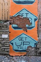 Get Up Y'all (pasa47) Tags: 2019 march fujifilm fujixe1 1855mm spring pendleton cincinnati ohio bolivaralley alley graffitialley