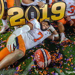 2018 National Championship Game - Celebration