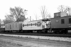 CB&Q Waycar Class NE-12 13534 (Chuck Zeiler 48Q) Tags: cbq waycar class ne12 13534 burlington railroad caboose naperville train chuckzeiler chz