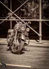 1 Monochrome MOnday Motorcyle on the street-3 (Singing With Light) Tags: spring 1st a7iii may2018 mirrorless nyc singingwithlight sonya7iii subway sunny walkingthecity architecture astorsquare manhattan photography singingwithlightphotography sony