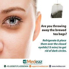 Are you throwing away the brewed tea bags (neetagurnale17417) Tags: eye eyes eyesight vision visioncare visionproblems eyehealth darkcircles eyecircles eyecare eyewear sunglasses health healthcare healthtips beautytips