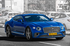 22224201 (rOOmUSh) Tags: bentley blue spot exotic continental gt
