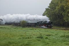 DR 41.1144 Neuhof 12/10/2007 (stefano.trionfini) Tags: train treni bahn zug steam dampf dr br41 werra thüringen germania germany