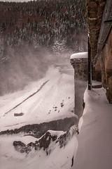 Tempête de neige au lac de la Lauch (mrieffly) Tags: alsace htrhin hautesvosges lacdelalauch massifdumarkstein neige vent canoneos50d