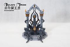 Atlan's-Throne12 (BrickElviN) Tags: lego moc dc aquaman castle ruin throne trident