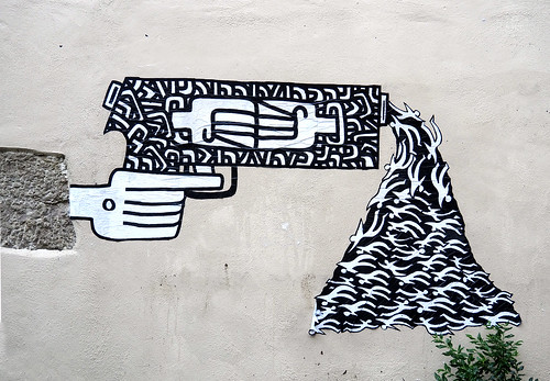Pasted paper by Theo Haggaï [Lyon, France]
