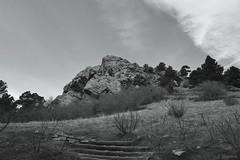 Mount Sanitas Trail - mountain (Solista*) Tags: boulder southwest usa kolorado colorado góry mountains trail szlak natura nature landscape krajobraz trip podróż travel journey bw black white czarny biały monochrome