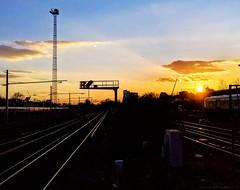 Sunset at Clapham Junction (dksesha) Tags: seshadri dhanakoti harita menaka google pixel tilottama sesh seshfamily haritasya vilambisamvatsara googlepixel3xl googlepixel pixel3 pixel3xl ccgmar2019