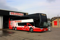 Weardale Motor services Stanhope (Chris Baines) Tags: weardale vanhool astromega triaxle tdx25 c6 wms stanhope county durham
