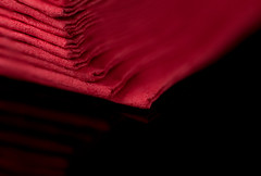 Red_Napkins (Lo8i) Tags: blackbackground flickrlounge focusstacking macro minimal napkin red stilllife