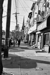 Streets of Philadephia: 10th & Spring Garden (phillyfamily) Tags: events philadelphia philadelphie analogue argentique digitization film janvier2018 noirblanc numérisation étatsunis