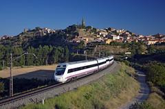 Alvia 430 @ Briones (Wesley van Drongelen) Tags: renfe red nacional ferrocarriles espana españa operadora alvia serie class type 120 s120 atprd sepia briones trein train zug tren comboio