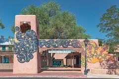 (el zopilote) Tags: albuquerque newmexico oldtownalbuquerque cityscape street architecture art mosaic mural people canon eos 5dmarkii canonef24105mmf4lisusm fullframe