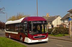Lothian VS Ryanair... (SRB Photography Edinburgh) Tags: lothian buses bus edinburgh ukbus transport scotland lrt volvo 7900 hybrid