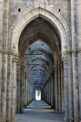 Abbazia di San Galgano a Chiusdino - Siena (Darea62) Tags: abbey arches architecture ancient medieval arcade middleage history historic tuscany toscana italy sonyalpha77 monument marble valdimerse
