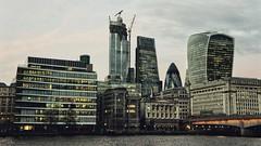 The City as seen from South London (marc.barrot) Tags: riverthames skyline urbanlandscape cityscape uk se1 london southwark bankside thecity