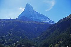 D20075.  The Matterhorn. (Ron Fisher) Tags: matterhorn gornergrat mountain thealps diealpen swissalps zermatt valais kantonwallis cantonvallese schweiz suisse svizzera switzerland sony sonyrx100iii sonyrx100m3 compactcamera