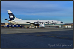 N709AS Alaska Air Carco (Bob Garrard) Tags: n709as alaska airlines air cargo mistral eigrb boeing 737 anc panc