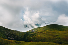 The empty house in mountains (showpx) Tags: house houm nature mountains clouds campaign summer nikon d600 sigma35