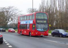 GAL WVL279 - LX59CYU - ELTHAM ROAD - SAT 16TH FEB 2019 (Bexleybus) Tags: goahead go ahead london eltham road se9 south east tfl route 321 wrightbus gemini volvo b9 wvl279 lx59cyu