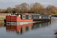 Canal Boat (Ashley Middleton Photography) Tags: lechladeonthames riverthames boat boats canalboat england europe river transportation unitedkingdom wiltshire gloucestershire