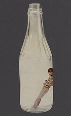 Empty (dadadreams (Michelle)) Tags: collage cutandpaste retro vintage empty bottle februllage