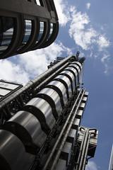 The Lloyds Building (JC Bird) Tags: lloyds sky london steel cloud lookup