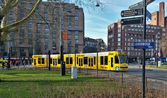 Tijdlijn (Peter ( phonepics only) Eijkman) Tags: amsterdam city combino gvb tram transport trams tramtracks trolley rail rails strassenbahn streetcars nederland netherlands nederlandse noordholland holland