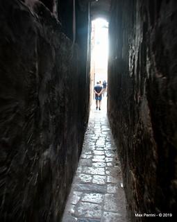 The little street in Old Town Taranto