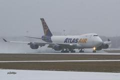 IMG_1947@L6 (Logan-26) Tags: boeing 74745efscd n486mc msn 30608 atlas air snow riga international rix evra latvia aleksandrs čubikins airport winter cargo
