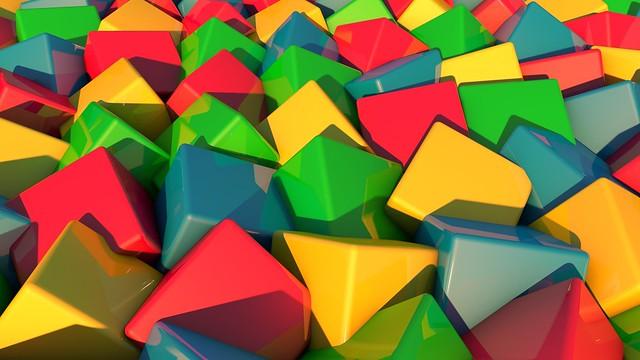 Обои кубики, много, цветные картинки на рабочий стол, фото скачать бесплатно